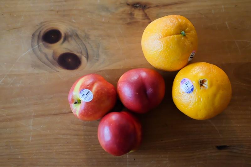 カラカラオレンジ&イエローネクタリン