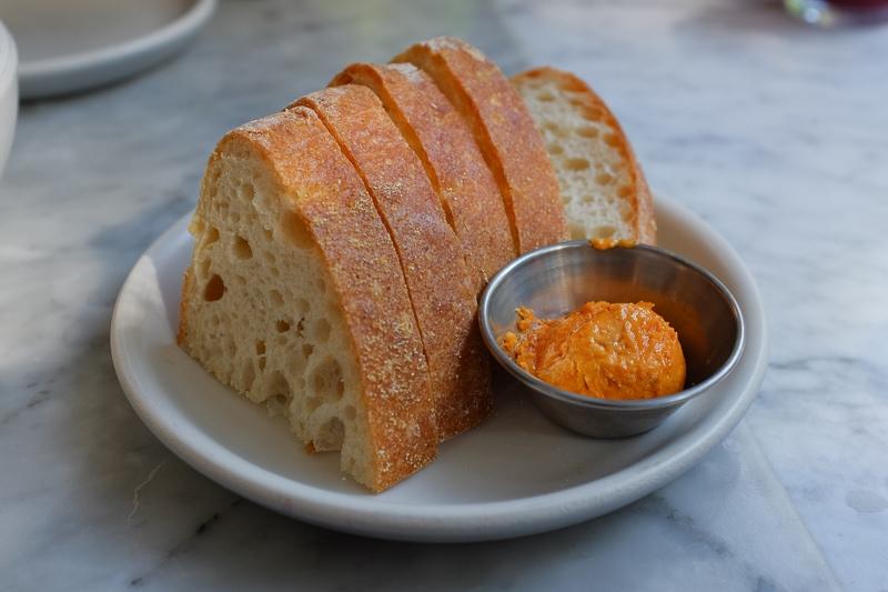 パン&パプリカバター
