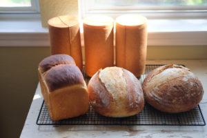ラウンドメッシュパン、サワードウ、食パン