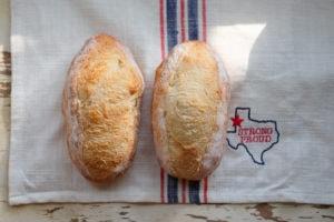 テキサスピーチ酵母パン
