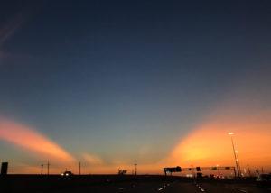 テキサスの夕焼け