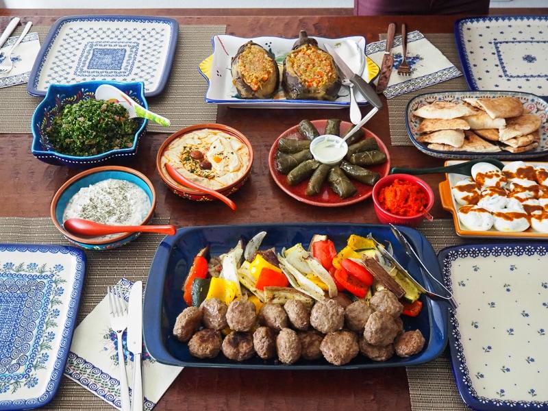 トルコ料理ランチ