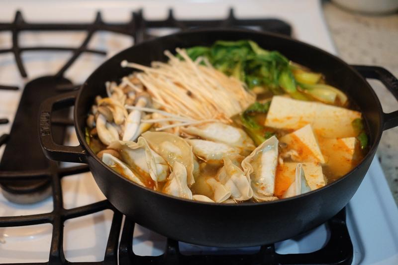火鍋風餃子鍋