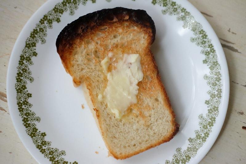 サクッとしたトースト