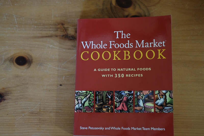 ホールフーズマーケットの料理本