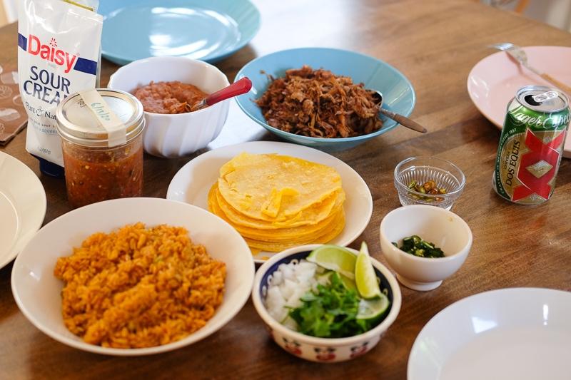 メキシコ料理ディナー