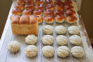 アールグレイメロンパン&あんぱん
