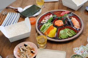 豪華手巻き寿司