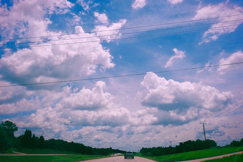 Penで撮るテキサスの空