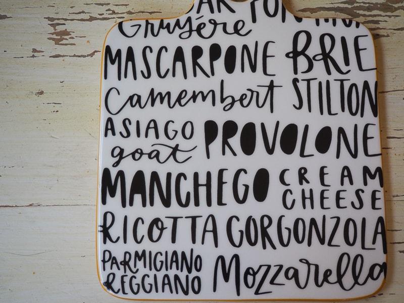 チーズの名前