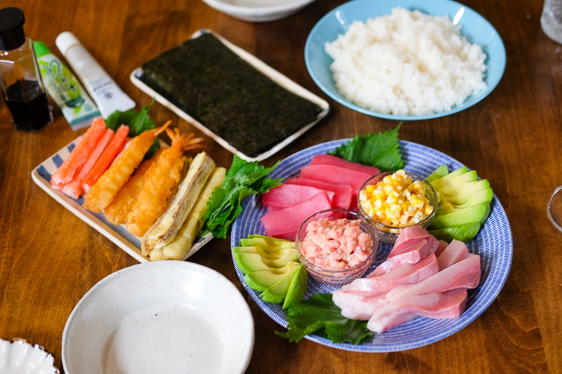 おうち手巻き寿司