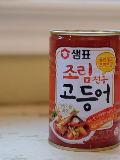 韓国の鯖缶