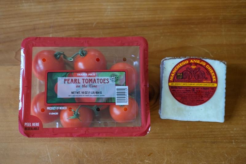 トマト&マンチェゴチーズ