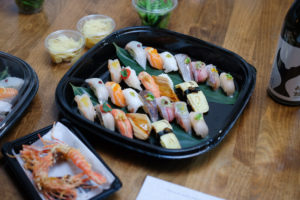 UROKOのおまかせ寿司