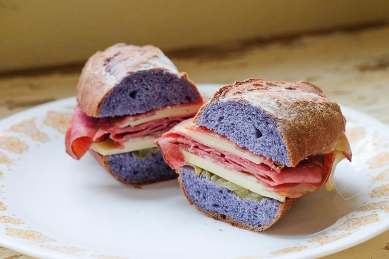 サンドイッチにしてみました