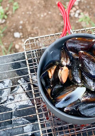 ムール貝のビール煮