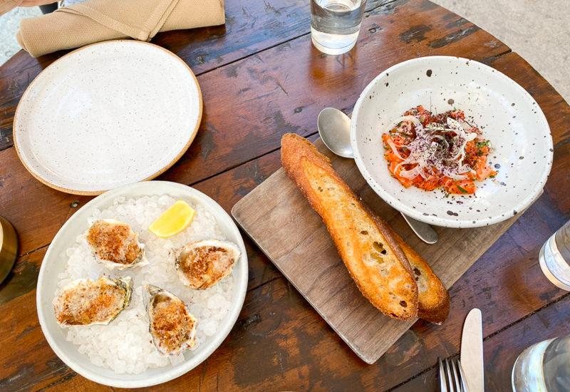 牡蠣&トラウト