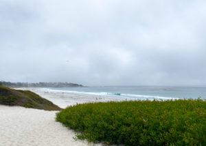 カーメルのビーチ