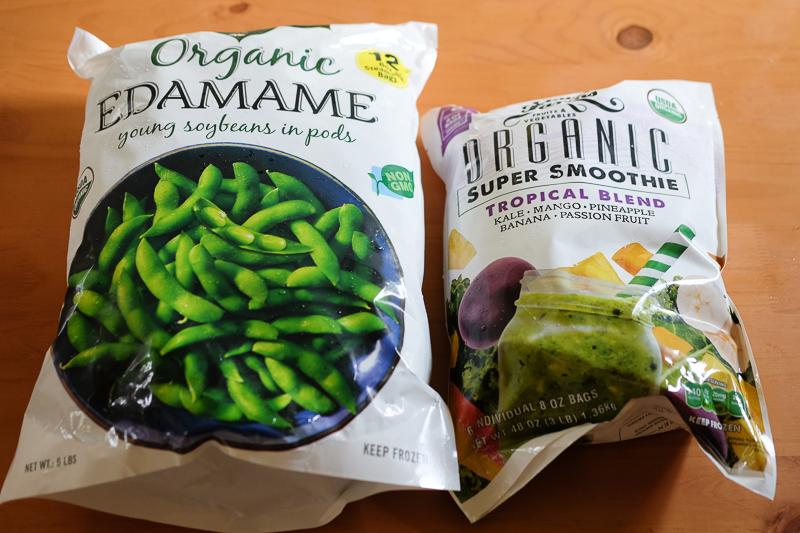 枝豆&スムージーミックス