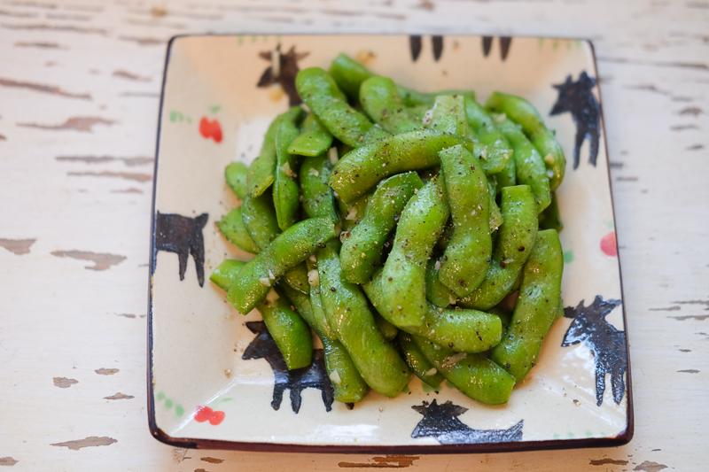 ガーリックバター&ブラックペッパー枝豆